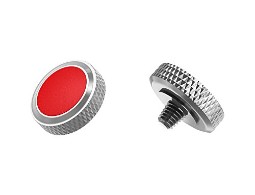 Pulsante di scatto ergonomico / rilascio morbido * Pelle artificiale & ottone * per Fujifilm Fuji X100F X-T20 X-T2 X-PRO2 X100T X-E3 XPRO-1 X-T10 X100 X100S X-E2S X30 X20 X10 ...