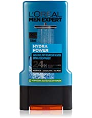 L'Oréal Paris Expert Hydra Power Mountain Water 3-i-1 Duschgel för Män, 300 ml