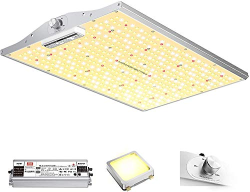 VIPARSPECTRA Latest XS2000 LED Grow Light with Samsung LM301B Diodes & MeanWell Driver, 2x4 ft Dimmable Full Spectrum Grow Light for Indoor Plants Seeding Veg and Bloom Hydroponic Growing Lamps