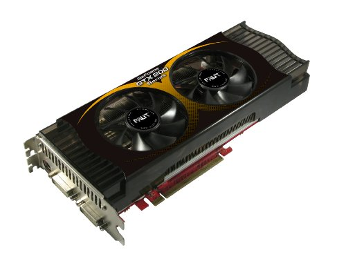 Palit nVidia GeForce GTX 275 Grafikkarte (PCI-e, 896MB GDDR3 Speicher, Dual DVI, HDTV-Out, 1 GPU)