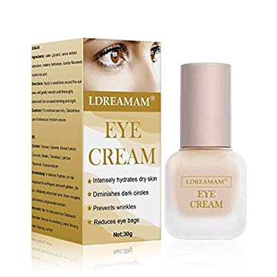 Eye Cream,Eye Gel,Anti-Aging Eye Cream - Minimizes Fine Lines, Reduces Puffiness & Dark Circles, Anti Aging Skin Nourishes Skin & Fights Wrinkles Night and Day Moisturizing Cream