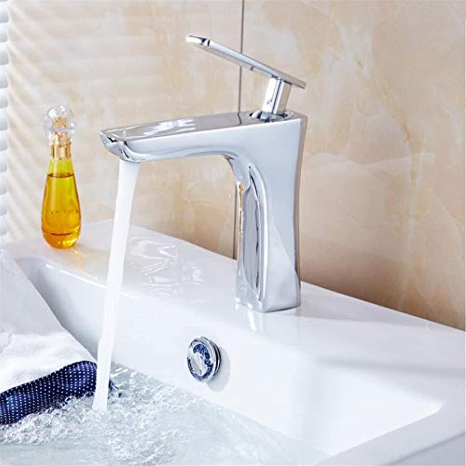 Faucet Basin Faucetchrome Brass Bathroom Sink Faucet Basin Mixer Tap Deck Mount One Hole
