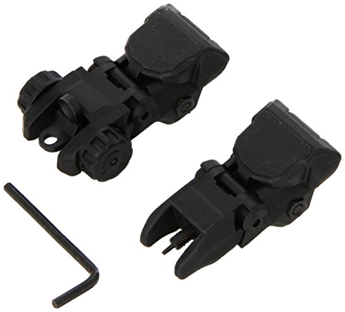 Field Sport Polymer flip up Back up Sights CQB