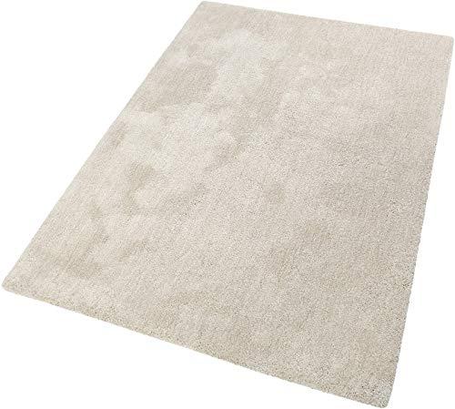 ESPRIT Relaxx Moderner Markenteppich, Polyester, Beige, 190 x 130 x 2.5 cm