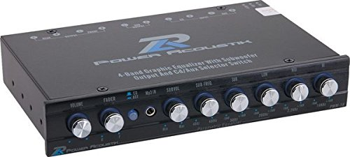 Power Acoustik PWM-16 Pre-Amp Equalizer, Standard Packaging