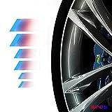 6Pcs Brake Caliper Decal Car Logo Badge...
