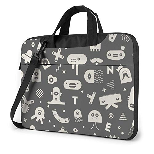 Hokdny laptoptasche Laptop Bag Schnittmuster Notebook Bag High Quality Laptop Bag Dirt Water Resistant Laptop Bag with Accessory Compartment 13/14/15.6 in