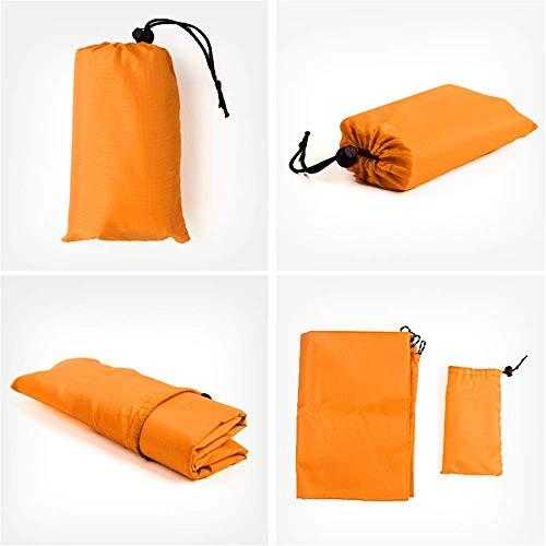 SONGHJ Leichte wasserdichte Picknickmatte Bodenmatte Mini Falten Strandmatte Outdoor Camping Feuchtigkeitsbeständige Matte