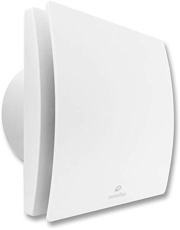 ROOS Air Mini ventilatore decentrato con recupero di calore per la ventilazione della casa montaggio a parete controllo automatico con sensore di aria CO2 + umidit/à