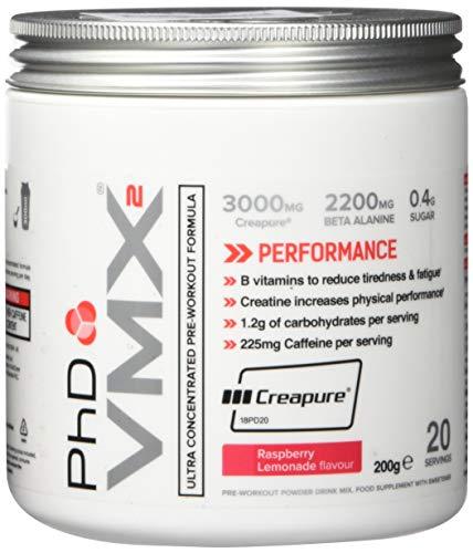 PHD VMX2 Raspberry Lemonade, 200 g