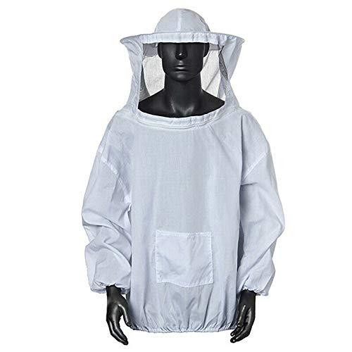 Traje de protección de apicultor con guantes, sombrero, velo, chaqueta de apicultor ventilada, traje de protección de abeja, bata de chaqueta de apicultura