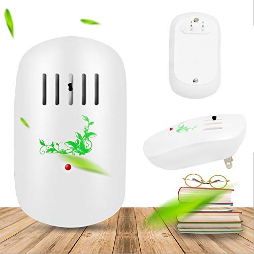 Zadmory Air Purifier for Home, Plug-in Air...