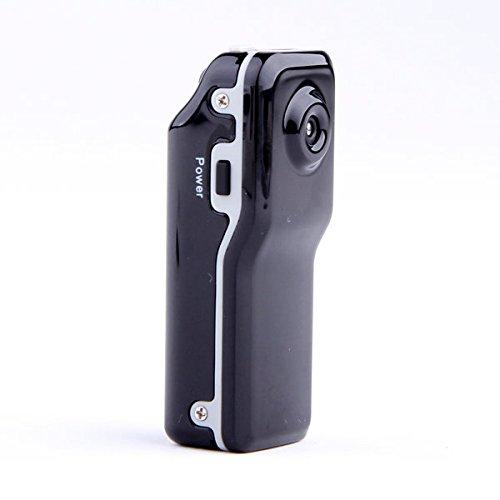 YATEK Mini Camara espía DV MD80 diminuta. Cuerpo en Metal, 640x480 a 30 FPS