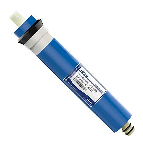 HiKiNS Universal-Umkehrosmose-Membran 50/75/100/125/150GPD für 5-stufiges Trinken zu Hause, RO Wasserfiltersystem, 1 Stück 2012-125G [Energieklasse A+++]