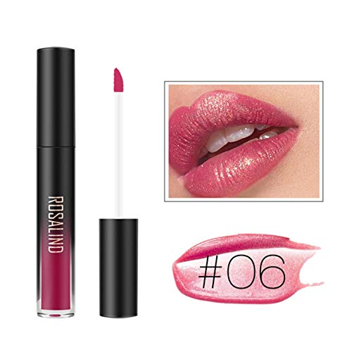 Lippenstifte, OVERMAL FOCALLURE Lippenstift Kosmetik Frauen Lippen Matte Lip Gloss Beauty Lipstick (F)