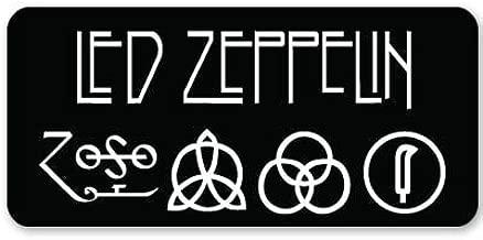 Led Zeppelin heavy metal ZOSO Vynil Car Sticker Decal - 5