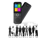 EnweLampi Instante Smart Traductor, Traductor Soporta 137 Idiomas, Diseño De Micrófono Dual, Operaci...