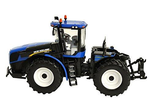 Britains New Holland T9.530 Traktor, Schiebe Spielzeug aus hochwertigem Material im Maßstab 1:32, interaktives Push Toys Spielzeug ab 3 Jahren, für Fans von originalgetreuen Nachbildungen