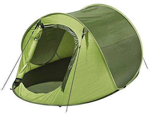 Wurfzelte Zelt Auspacken und Werfen - Zelt Springt von Alleine auf (Grün)