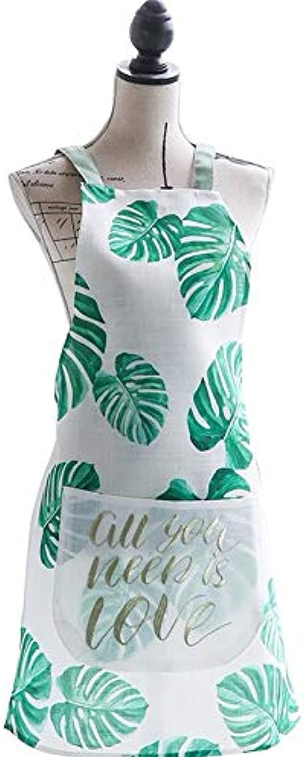 Fabric Apron OilProof Apron Kitchen Apron
