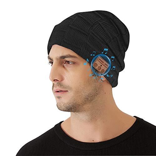 41JTQDTAykL. SL500  - Bluetooth Beanie Hat, Wireless