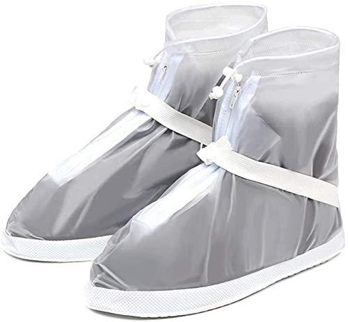 Cubrezapatillas de Bicicleta Ciclismo Botas impermeables Zapatos Cubiertas para mujeres y hombres Cubiertas de zapatos de lluvia Pies Gaiter Shoes Cubre Niños Anti resbalón Reutilizable Lluvia Lluvia