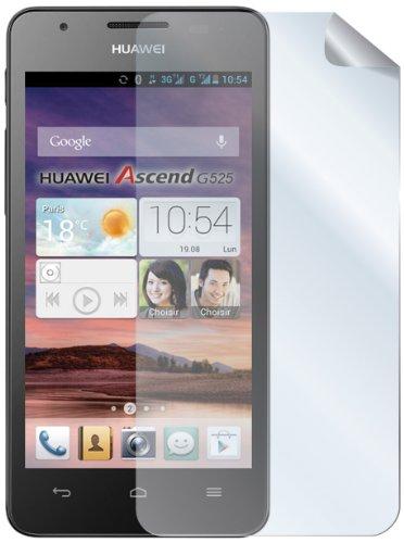 Celly glänzend Bildschirmschutzfolie Film für Huawei Ascend G525(2Stück)