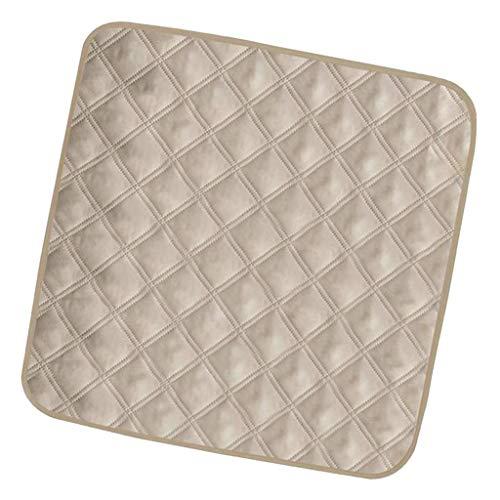 Beige- Ultra waterdichte absorberende wasbare stoel beschermer pad onderleggers voor incontinentie mensen huisdier