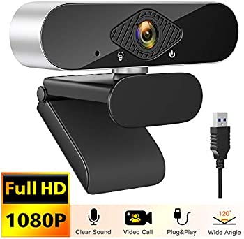 Hevela Life 1080P USB Streaming Web Cam for Desktop Laptop