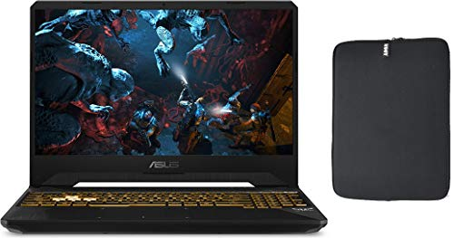 ASUS 15.6' FHD IPS 120Hz Premium Gaming Laptop PC, Intel 6-Core i7-9750H, 24GB RAM, 1TB PCIe SSD Boot + 1TB HDD, NVIDIA 1650 4GB, RGB Backlit Keyboard, Windows 10 Home, w/ WOOV Accessory Bundle