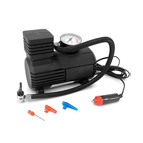 Mini compressore ad aria portatile di qualità 12 V, pressione 300 PSI, per gonfiare palloni e pneumatici per bici e auto