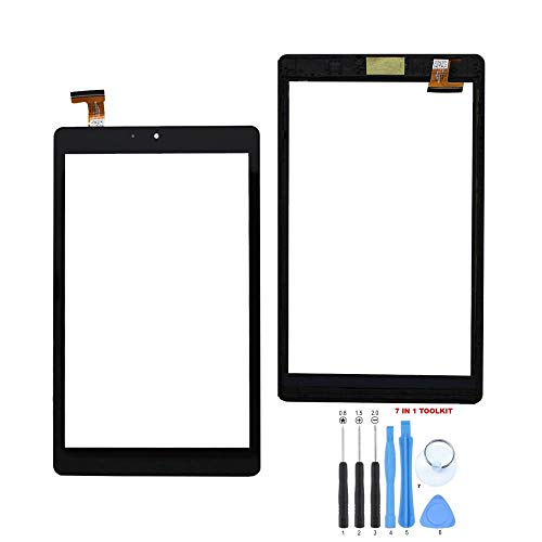 GR Touch Screen Digitizer with Frame for Nextbook Ares 8A NX16A8116A NX16A8116K NX16A8116S 8 inch Tablet PC (Does NOT Work with The NXA8QC116B Model NOR with The NXA8QC116R Model)