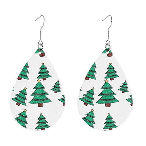 Fineday Women Christmas Hook Drop Dangle Earring Charm Eardrop Jewelry Xmas Party, Earrings, Jewelry & Watches (D)