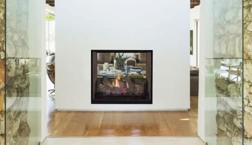 DRT63STTEN Electronic See-Through National uniform free shipping Top Vent Natural Fireplace G - Max 42% OFF
