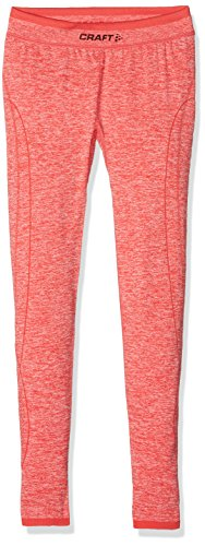 Craft Active Comfort JR – Pantalones Infantil Base Layer, Poppy, 122/128