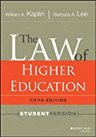 The Law of Higher Education, 5th Edition: Student Version (Jossey-Bass Higher & Adult Education)