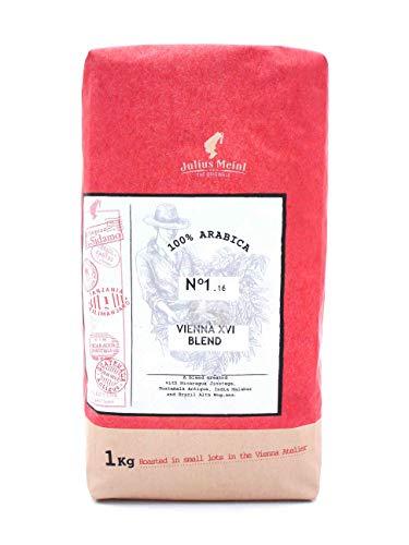Julius Meinl Kaffee Espresso - VIENNA XVI BLEND - 1000g Bohnen