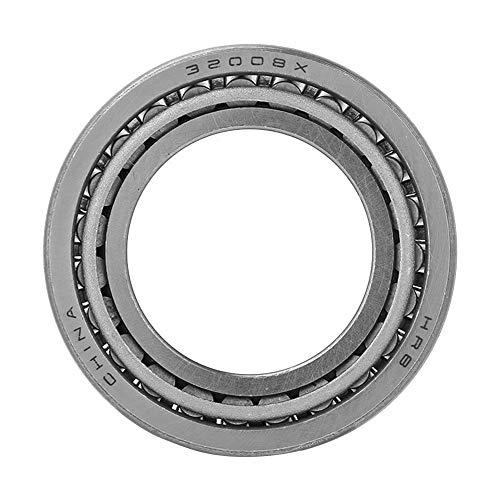 40mm * 68mm * 19mm Kegelrollenlager, 32008X Lagerstahl Einreihiger Kegelrollenlager-Kegelsatz Weit verbreitet in Automobil, Walzwerk, Kunststoffmaschinen, Bergbau