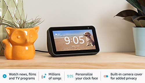 Echo Show 5 – Stay in touch with the help of Alexa, Black