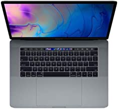 "Apple 15"" MacBook Pro with Touch Bar, Intel Core i9 2.3GHz, Pro Vega 20, 32GB RAM, 1TB SSD, Space Gray (Mid 2019) Z0WW0006K"