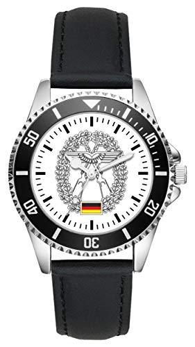 Soldat Geschenk Artikel Bundeswehr Objektschutz der Luftwaffe Uhr L-1214