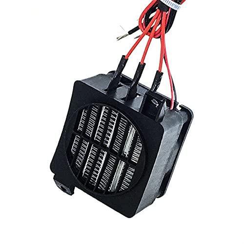 TONGTAIRUI-LIGHTS TTTting - Calentador PTC con ventilador de 350 W 220 V, calentador eléctrico termostático PTC, calentador de incubadora de huevos 90 x 60 mm