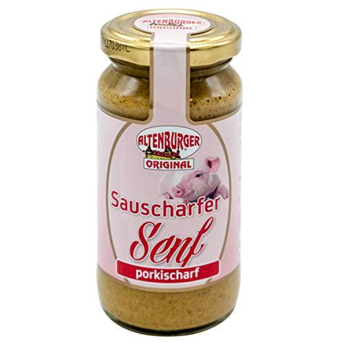 Altenburger sauscharfer Senf 200ml Glas