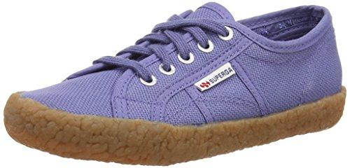 Superga 2750 Naked Cotj, Sneakers basses - Bleu - Blue (X46 Blue Velvet), 31 EU (12.5 UK Child)