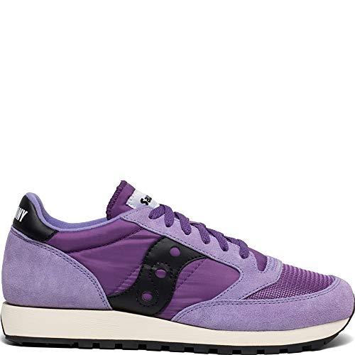 Saucony Jazz Original Vintage, Zapatillas para Hombre, Morado (Purple/Black 53), 38.5 EU