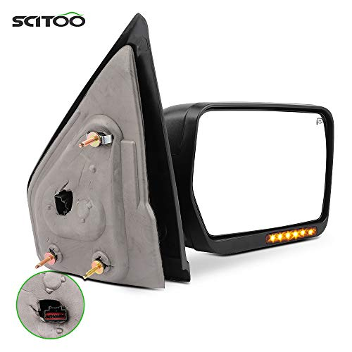 SCITOO Towing Mirror fit for Ford Exterior Mirror fit 2007-2014 for Ford for...