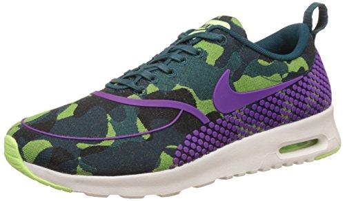 Nike - Zapatillas de sintético para mujer blanco Teal Vivid Purple Ghost Green Sail 300 37.5 EU
