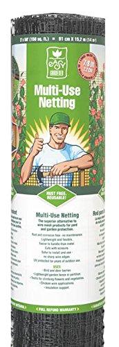 Easy Gardener MultiUse Netting For Garden Protection Trellis Netting and Light Weight Fencing 2 feet x 50 feet