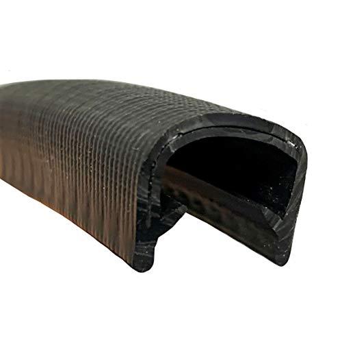 Protector universal puerta coche forma U, protección canto chapa, madera, vidrio, carrocería,...