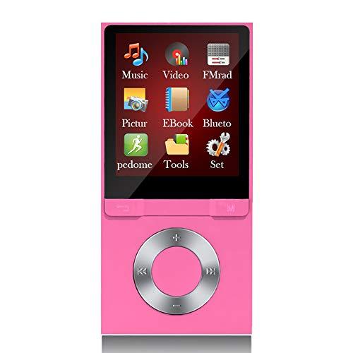 MP3-speler Bluetooth, 8 GB Bluetooth MP3-speler met hoofdtelefoon Sport 1,8